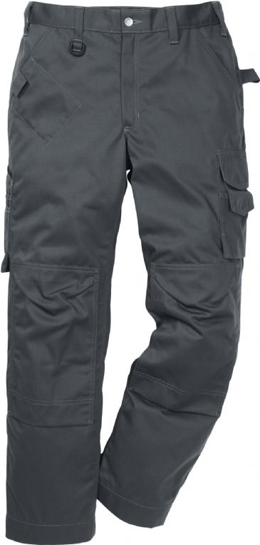 Fristads Icon One Cotton Trousers with Kneepad Pockets 2112 KC / 114119 (Dark Grey)